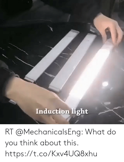 You Think: RT @MechanicaIsEng: What do you think about this. https://t.co/Kxv4UQ8xhu