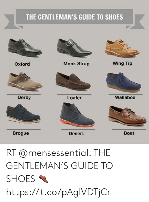 guide: RT @mensessentiaI: THE GENTLEMAN'S GUIDE TO SHOES 👞 https://t.co/pAgIVDTjCr