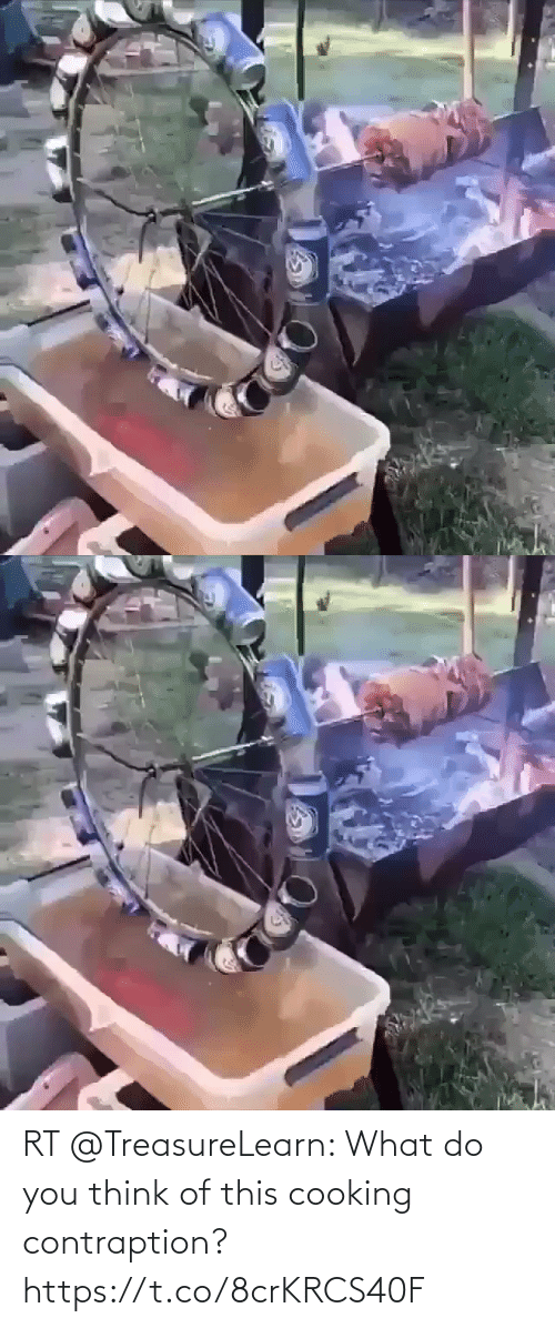 You Think: RT @TreasureLearn: What do you think of this cooking contraption? https://t.co/8crKRCS40F