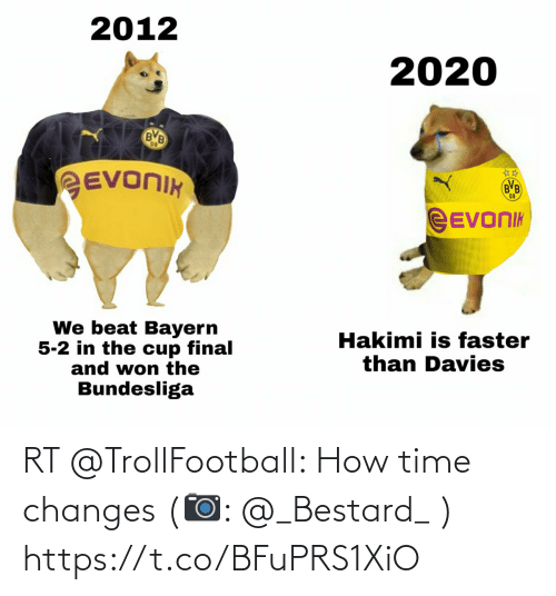 Trollfootball: RT @TrollFootball: How time changes  (📷: @_Bestard_ ) https://t.co/BFuPRS1XiO