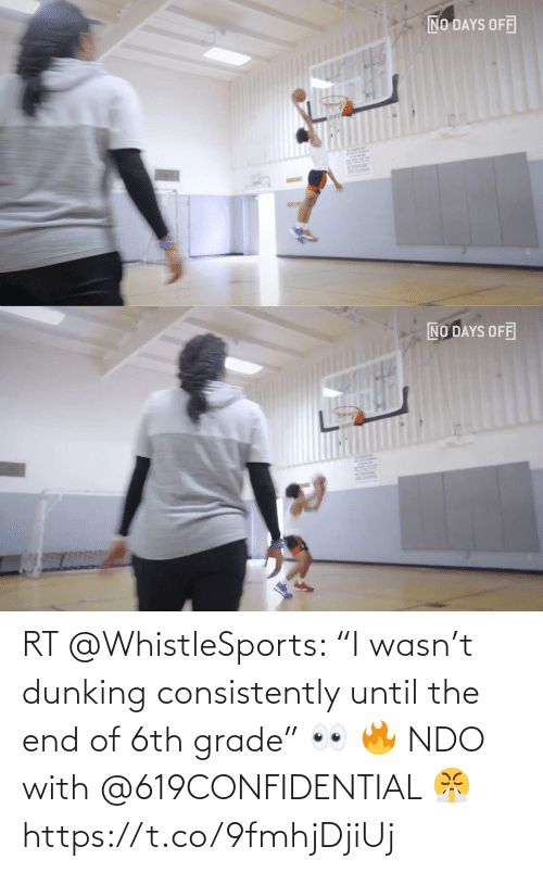 "ballmemes.com: RT @WhistleSports: ""I wasn't dunking consistently until the end of 6th grade"" 👀 🔥   NDO with @619CONFIDENTIAL 😤https://t.co/9fmhjDjiUj"