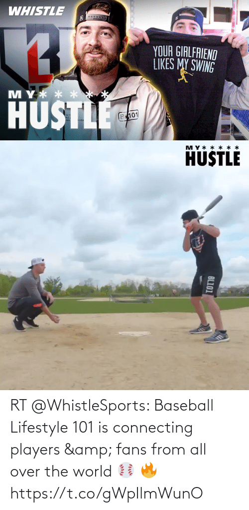 Baseball: RT @WhistleSports: Baseball Lifestyle 101 is connecting players & fans from all over the world ⚾️  🔥 https://t.co/gWpIlmWunO