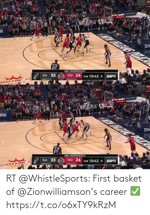 ballmemes.com: RT @WhistleSports: First basket of @Zionwilliamson's career ✅ https://t.co/o6xTY9kRzM