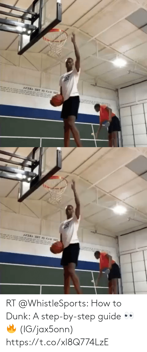 guide: RT @WhistleSports: How to Dunk: A step-by-step guide 👀🔥  (IG/jax5onn) https://t.co/xl8Q774LzE