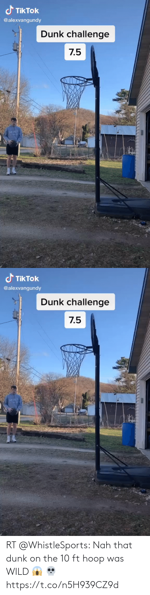 ballmemes.com: RT @WhistleSports: Nah that dunk on the 10 ft hoop was WILD 😱 💀 https://t.co/n5H939CZ9d