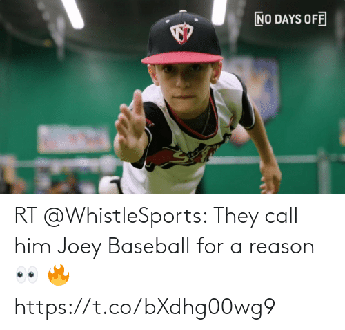 Baseball: RT @WhistleSports: They call him Joey Baseball for a reason 👀 🔥 https://t.co/bXdhg00wg9
