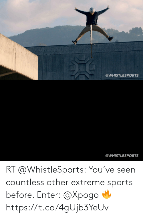 sports: RT @WhistleSports: You've seen countless other extreme sports before.   Enter: @Xpogo 🔥 https://t.co/4gUjb3YeUv