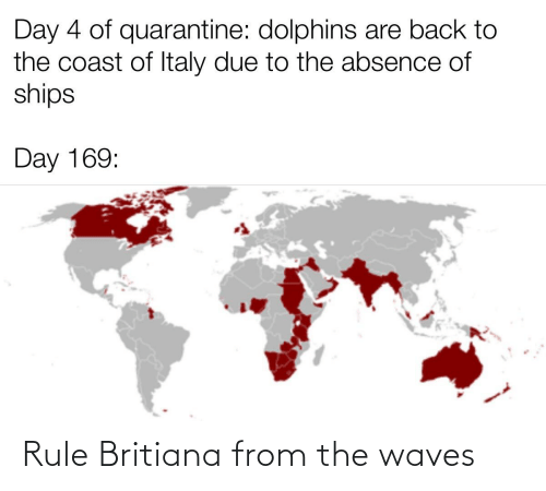 Waves: Rule Britiana from the waves