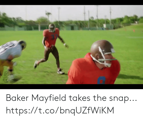Baker Mayfield: RVT  @NFLRT  You Tube Baker Mayfield takes the snap... https://t.co/bnqUZfWiKM