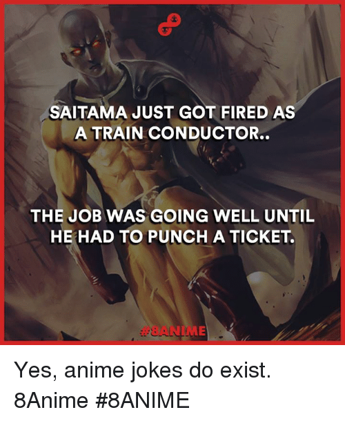 Animals Anime And Fire SAITAMA JUST GOT FIRED AS A TRAIN CONDUCTOR