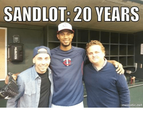 Memes, 🤖, and Net: SANDLOT: 20 YEARS  lmematic net