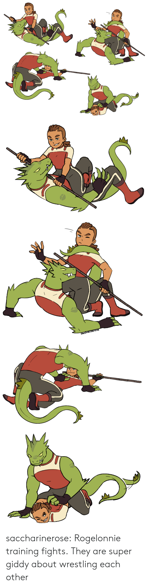 Wrestling: SArCharinerose   SOccharinerose saccharinerose:  Rogelonnie training fights.They are super giddy about wrestling each other