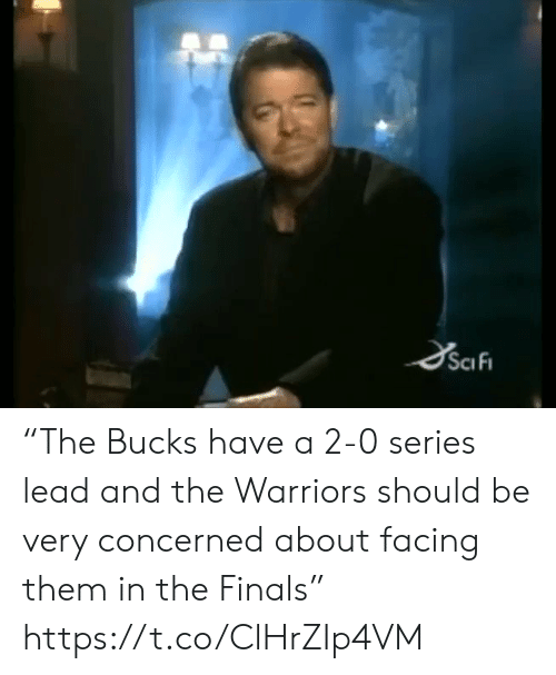 "Finals, Sports, and Warriors: SciFi ""The Bucks have a 2-0 series lead and the Warriors should be very concerned about facing them in the Finals"" https://t.co/ClHrZIp4VM"
