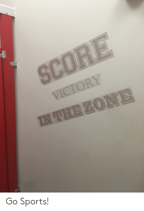 Go Sports: SCORE  VICTORY  IN THE ZONE Go Sports!