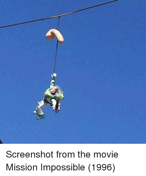 mission impossible 1996: Screenshot from the movie Mission Impossible (1996)