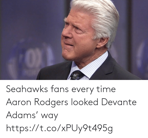 fans: Seahawks fans every time Aaron Rodgers looked Devante Adams' way https://t.co/xPUy9t495g