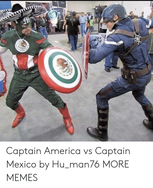 America, Dank, and Memes: SEE  nds9 Captain America vs Captain Mexico by Hu_man76 MORE MEMES