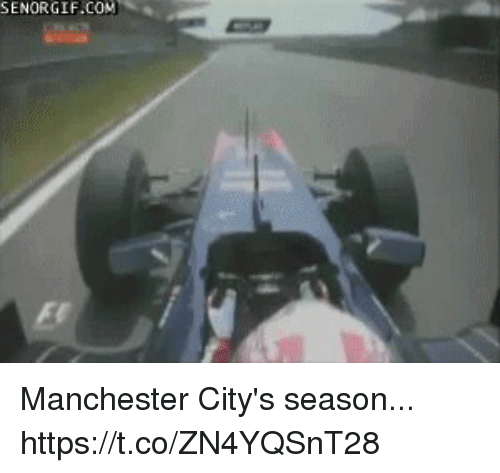 Soccer, Manchester, and Com: SENORGIF.COM Manchester City's season... https://t.co/ZN4YQSnT28