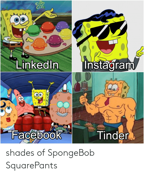 SpongeBob: shades of SpongeBob SquarePants