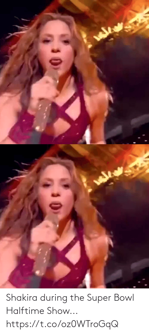 super: Shakira during the Super Bowl Halftime Show... https://t.co/oz0WTroGqQ