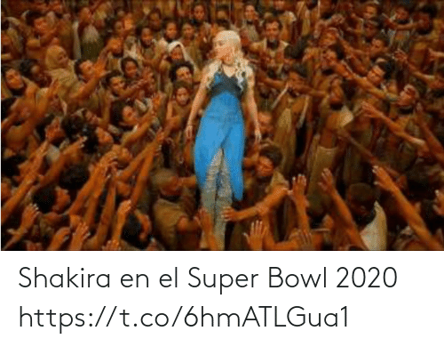 super: Shakira en el Super Bowl 2020 https://t.co/6hmATLGua1