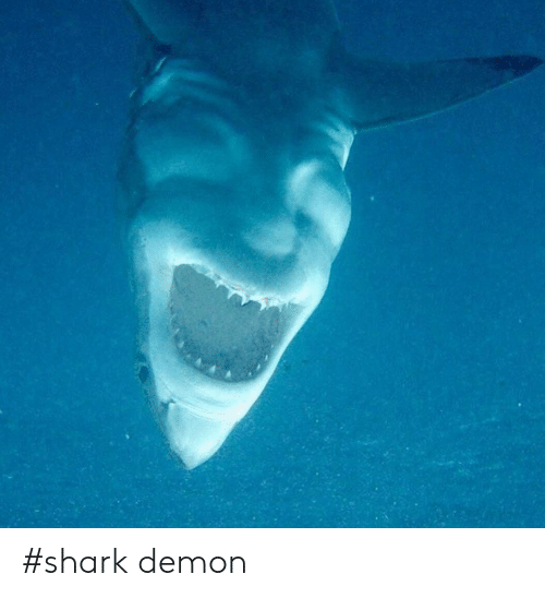Shark and Demon: #shark demon