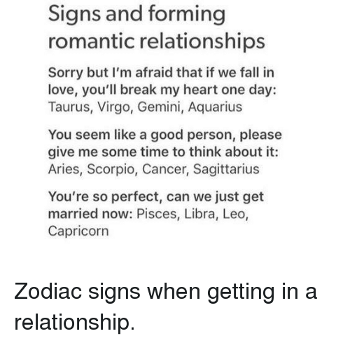 Should you marry him zodiac signs astrology