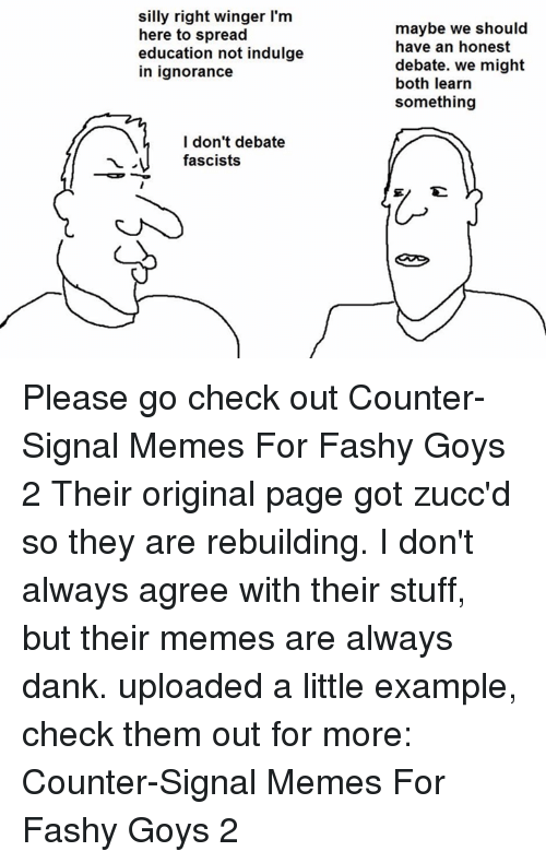 25 Best Memes About Counter Signal Memes Counter Signal