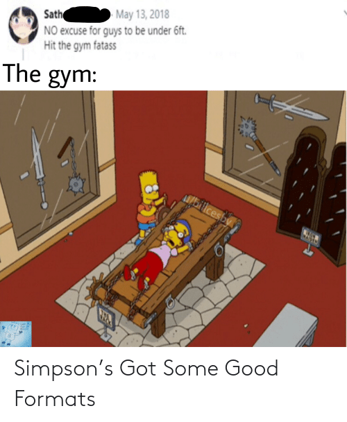 Some Good: Simpson's Got Some Good Formats