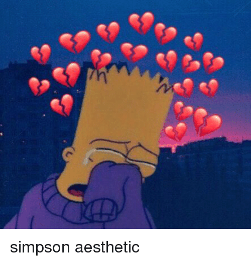 Aesthetic and Simpson: simpson aesthetic