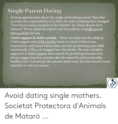 Dating and single parenting