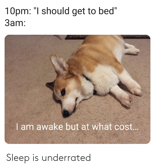 Sleep: Sleep is underrated