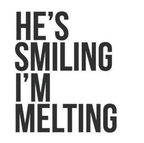 melting: SMILING  T'M  MELTING  1