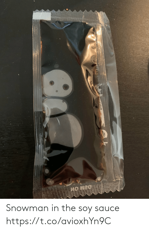Faces-in-Things: Snowman in the soy sauce https://t.co/avioxhYn9C