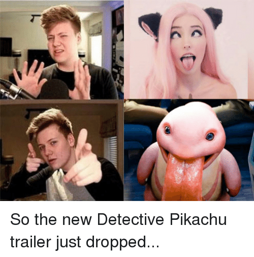 Pikachu, Detective, and New