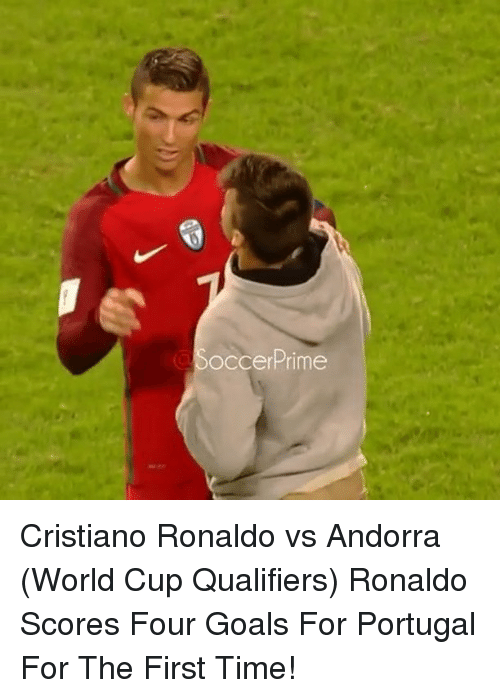 World Cup Qualifiers: Soccer Prime Cristiano Ronaldo vs Andorra (World Cup Qualifiers) Ronaldo Scores Four Goals For Portugal For The First Time!
