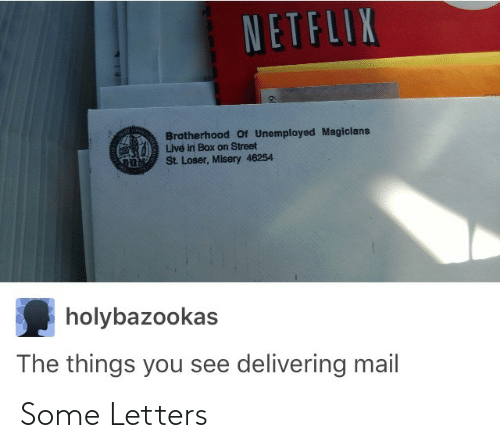 Some: Some Letters