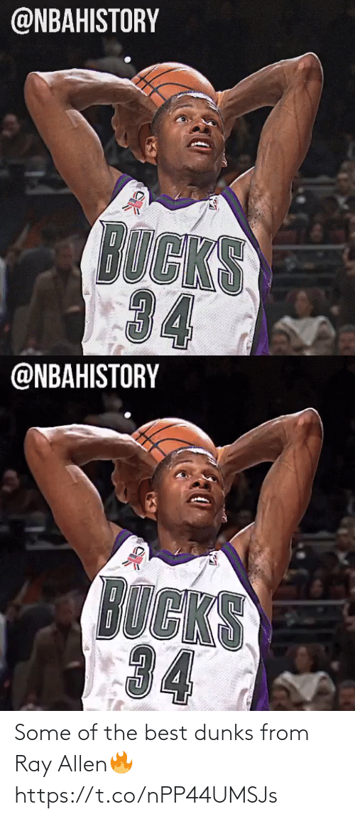 Some: Some of the best dunks from Ray Allen🔥 https://t.co/nPP44UMSJs