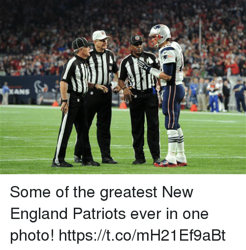 New England Patriots: Some of the greatest New England Patriots ever in one photo! https://t.co/mH21Ef9aBt