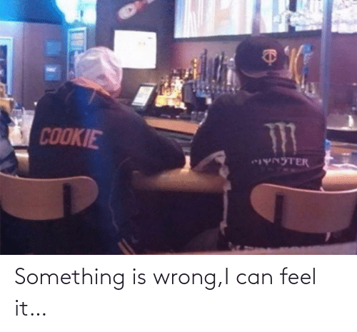 i can: Something is wrong,I can feel it…