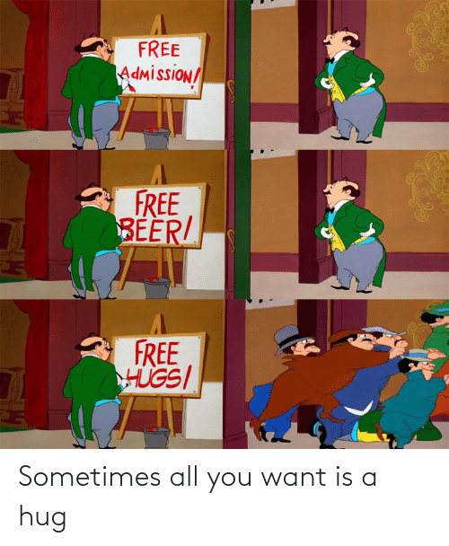All You: Sometimes all you want is a hug