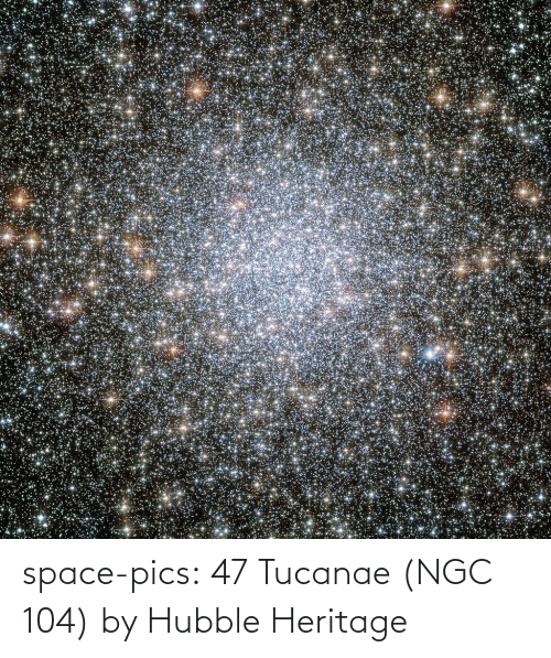 Space: space-pics:  47 Tucanae (NGC 104) by Hubble Heritage