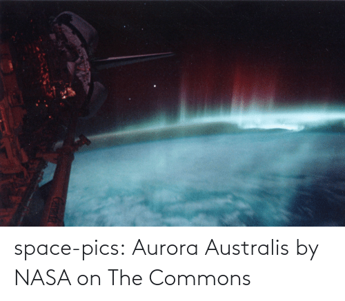 pics: space-pics:  Aurora Australis by NASA on The Commons