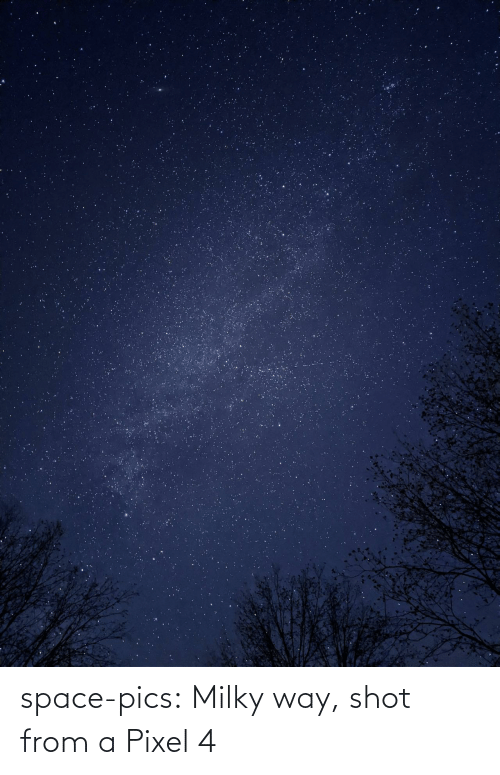pics: space-pics:  Milky way, shot from a Pixel 4