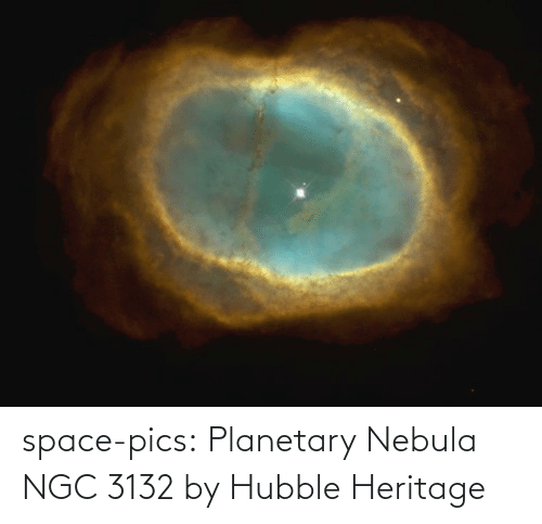 Space: space-pics:  Planetary Nebula NGC 3132 by Hubble Heritage