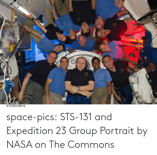 NASA: space-pics:  STS-131 and Expedition 23 Group Portrait by NASA on The Commons