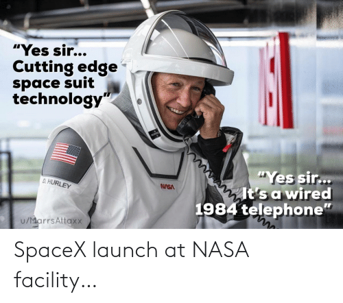 Launch: SpaceX launch at NASA facility…