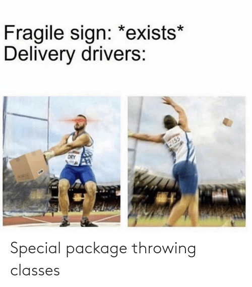 throwing: Special package throwing classes