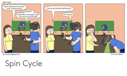 Cycle: Spin Cycle