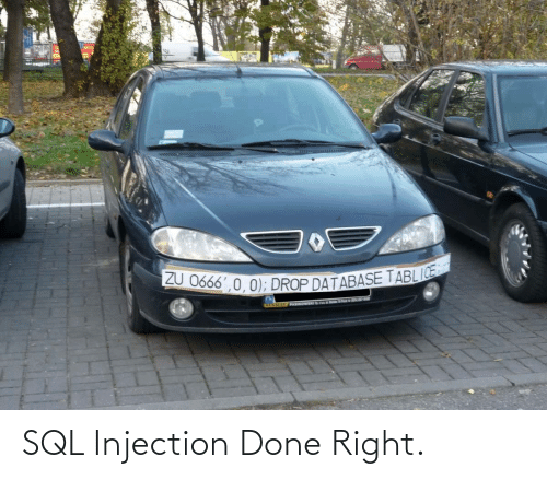 done: SQL Injection Done Right.